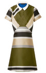 Collared Dress by OSTWALD HELGASON Now Available on Moda Operandi