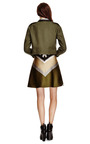 Cropped Wool Jacket by OSTWALD HELGASON Now Available on Moda Operandi