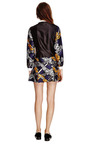 Silk Dupioni Collared Mini Dress by OSTWALD HELGASON Now Available on Moda Operandi