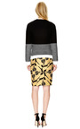 Cotton Blend Jacquard Pencil Skirt by MOTHER OF PEARL Now Available on Moda Operandi