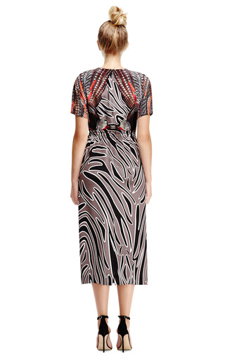 Irvetta Crepe De Chine Gathered Waist Dress by MOTHER OF PEARL Now Available on Moda Operandi