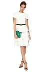 Tiered Cotton And Silk Blend Dress by VALENTINO Now Available on Moda Operandi
