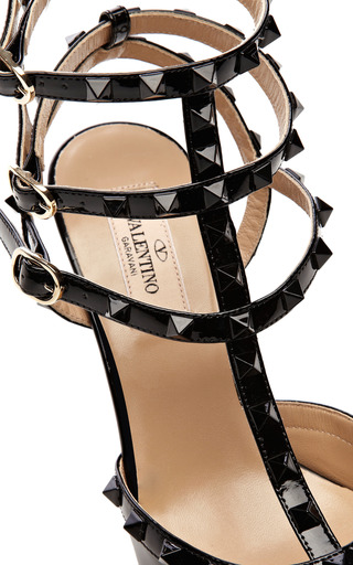 Patent Leather Rockstud Pumps by VALENTINO Now Available on Moda Operandi