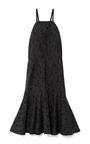 Cotton Blend Flared Hem Jacquard Dress by DEREK LAM 10 CROSBY Now Available on Moda Operandi