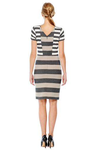 Stripe Interlock Jersey Dress by DEREK LAM 10 CROSBY Now Available on Moda Operandi