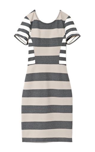 Medium derek lam 10 crosby multi stripe interlock jersey dress 2