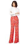 Printed Silk Blend Wide Leg Pant by DEREK LAM 10 CROSBY Now Available on Moda Operandi