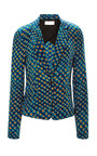 Silk Printed Blazer by DEREK LAM 10 CROSBY Now Available on Moda Operandi