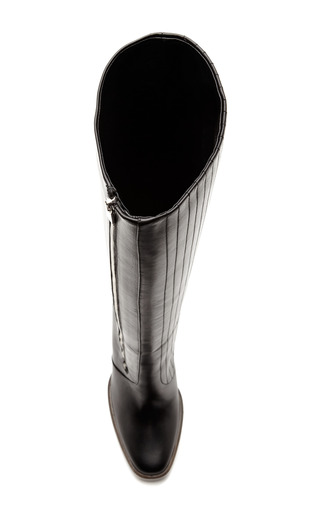 Eames Atello Tall Leather Boots by THEYSKENS' THEORY Now Available on Moda Operandi