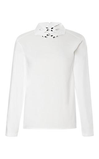 Primerose Embroidered Collar Shirt by VIVETTA Now Available on Moda Operandi