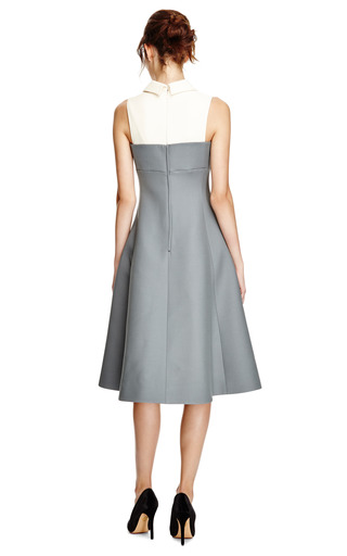 Wool And Silk Blend Flared Dress by VALENTINO Now Available on Moda Operandi