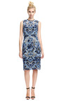 Sleeveless Guipure Lace Dress by VALENTINO Now Available on Moda Operandi