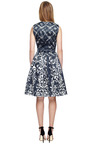 Wendell Printed Satin A Line Dress by PREEN BY THORNTON BREGAZZI Now Available on Moda Operandi