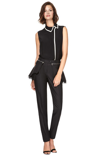 Holden Crepe De Chine Blouse by PREEN BY THORNTON BREGAZZI Now Available on Moda Operandi