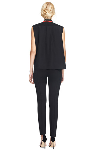 Starr Silk Embellished Blouse by PREEN BY THORNTON BREGAZZI Now Available on Moda Operandi