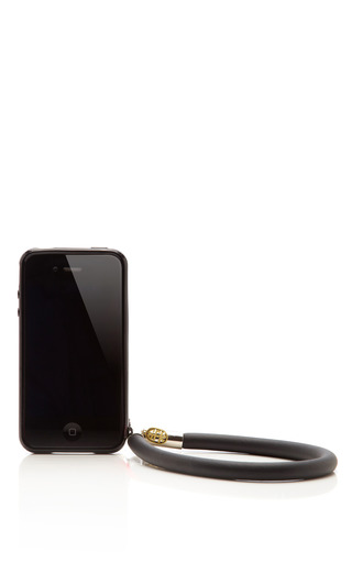 Medium sfk black licorice iphone case with bracelet