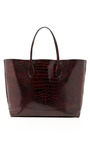 Stamped Croc Tote by ROCHAS Now Available on Moda Operandi