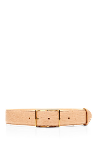 Textured Lamb Leather Belt by ROCHAS Now Available on Moda Operandi