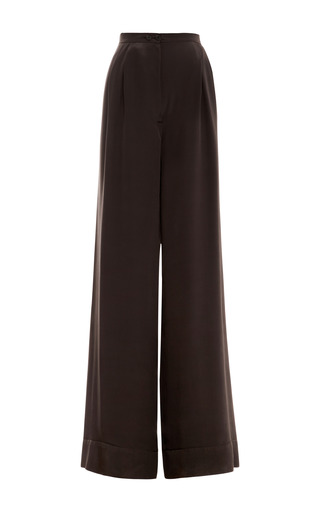 Silk Pajama Pants by ROCHAS Now Available on Moda Operandi