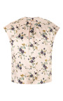 Printed Jacquard Silk Satin Top by ROCHAS Now Available on Moda Operandi