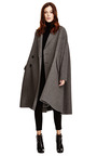 Wool Blend Oversized Tweed Coat by ROCHAS Now Available on Moda Operandi