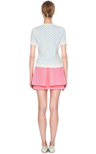 Pleated Back Wafer Mesh Mini Skirt by SIMONE ROCHA Now Available on Moda Operandi