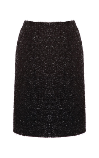 Medium simone rocha black tinsel pencil skirt