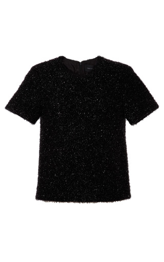 Medium simone rocha black tinsel top