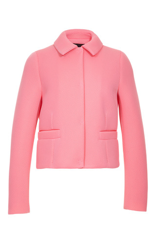 Medium simone rocha pink wafer mesh jacket