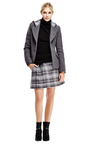 Boiled Wool Hooded Blazer by THAKOON ADDITION Now Available on Moda Operandi