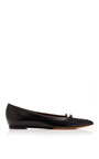 Alexa Two Tone Leather Flats by TABITHA SIMMONS Now Available on Moda Operandi