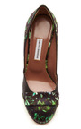 Frida Floral Printed Satin Pumps by TABITHA SIMMONS Now Available on Moda Operandi