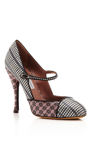 Hope Printed Mary Jane Pumps by TABITHA SIMMONS Now Available on Moda Operandi