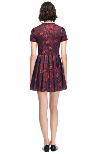 Lizzy Floral Pleated Dress by OPENING CEREMONY Now Available on Moda Operandi