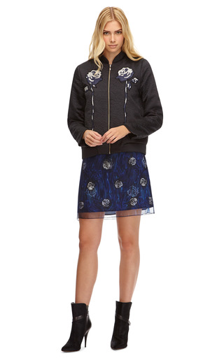 Molly Hammered Satin Bomber Jacket by OPENING CEREMONY Now Available on Moda Operandi