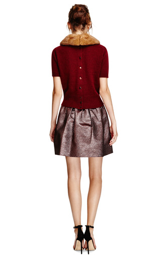 Hope Gathered Waist Lurex Skirt by OPENING CEREMONY Now Available on Moda Operandi