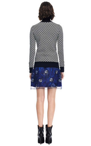Natasha Floral Double Layered Organza Skirt by OPENING CEREMONY Now Available on Moda Operandi