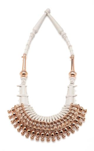 Medium ek thongprasert gold ethnic silicone necklace