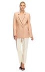 Embellished Double Breasted 3 D Foam Jacket by RODARTE Now Available on Moda Operandi