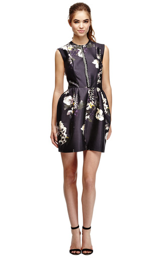 Wendy Embellished Floral Print Dress by ELLERY Now Available on Moda Operandi
