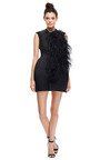 Feather Embroidered Structured Dress by ELLERY Now Available on Moda Operandi