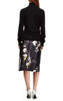 Vreeland Floral Print Cotton Blend Skirt by ELLERY Now Available on Moda Operandi
