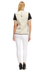 Embossed Leather And Satin Neoprene Boxy Top by ELLERY Now Available on Moda Operandi