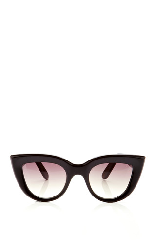 Medium ellery black cat eye sunglasses