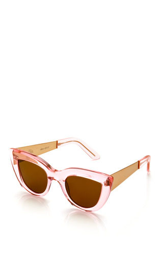 Transparent Cat Eye Sunglasses by ELLERY Now Available on Moda Operandi