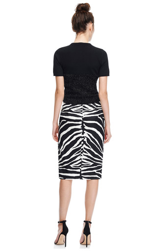 Tinsel And Knitted Cotton Top by CARVEN Now Available on Moda Operandi