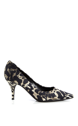 Printed Pointed Toe Pump by GIAMBATTISTA VALLI Now Available on Moda Operandi
