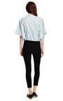 Velvet Flocked Cotton Blouse by KENZO Now Available on Moda Operandi