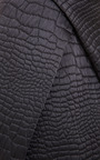 Quilted Satin Reptile Jacquard Skirt by KENZO Now Available on Moda Operandi