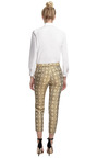Printed Cropped Pant With Tapered Leg by SUNO Now Available on Moda Operandi